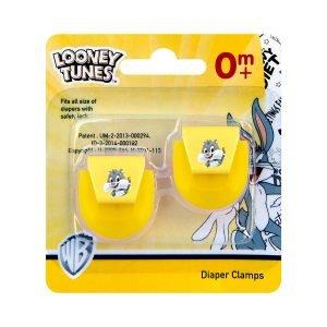 Looney Tunes 2 Pieces Diaper Clamps