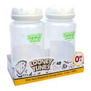 Looney Tunes 2-Pack 8 Ounce Breastmilk Storage Bottles