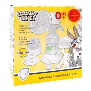 Looney Tunes Adjustable Suction Breast Pump