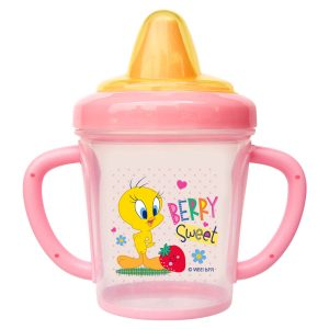 Looney Tunes 9 Ounce Trainer Cup with Cover