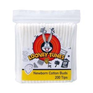 Looney Tunes 200 Tips Newborn Cotton Buds
