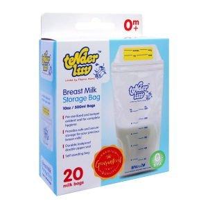Tender Luv Baby 20 Pieces Breast Milk Storage Bags